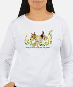 Fox Terrier Frolic T-Shirt