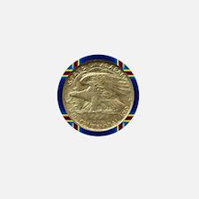 Alabama Centennial Half Dollar Coin  Mini Button
