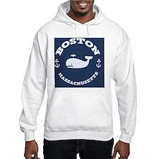 souv-whale-boston-BUT Hoodie