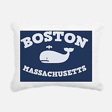 souv-whale-boston-CRD Rectangular Canvas Pillow