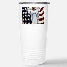 Angel of the USA Stainless Steel Travel Mug
