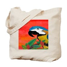Parrot Head Tote Bag