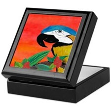 Parrot Head Keepsake Box