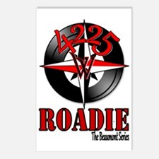 4224 West Roadie Big Postcards (Package of 8)