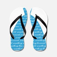 something blue, wedding dress, bridal g Flip Flops
