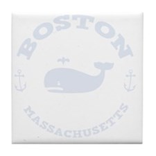 souv-whale-boston-DKT Tile Coaster