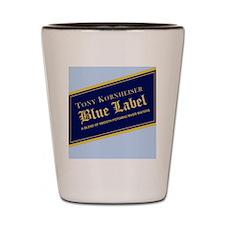 Blue Label Shot Glass