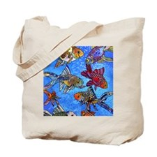 Wild Goldfish Tote Bag