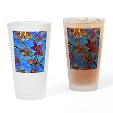 Wild Goldfish Drinking Glass