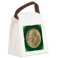 Daniel Boone Half Dollar Coin  Canvas Lunch Bag