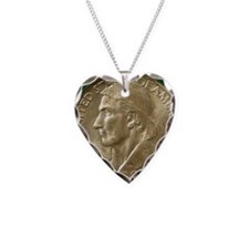 Daniel Boone Half Dollar Coin Necklace