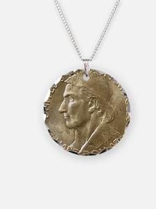 Daniel Boone Half Dollar Coi Necklace