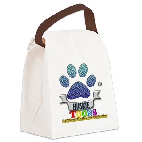 Huskie Toons 2013 logo Canvas Lunch Bag