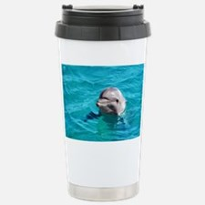 Dolphin Blue Water Travel Mug
