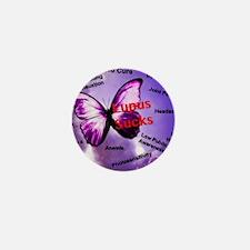 Lupus Sucks Mini Button