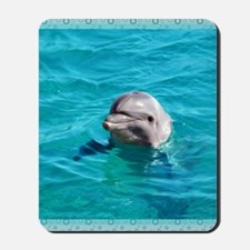Dolphin Blue Water Mousepad