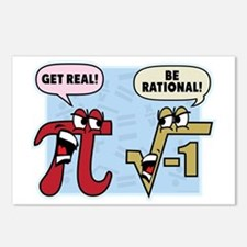 Get Real Be Rational Postcards (Package of 8)