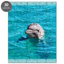Dolphin Blue Water Puzzle