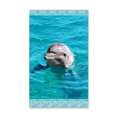 Dolphin Blue Water Wall Decal