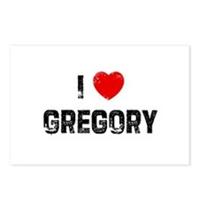 I * Gregory Postcards (Package of 8)