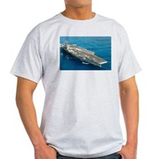 USS Abraham Lincoln Ship's Image T-Shirt