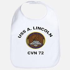 USS Abraham Lincoln CVN 72 Bib