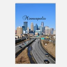 Minneapolis_5.415X 7.9688 Postcards (Package of 8)