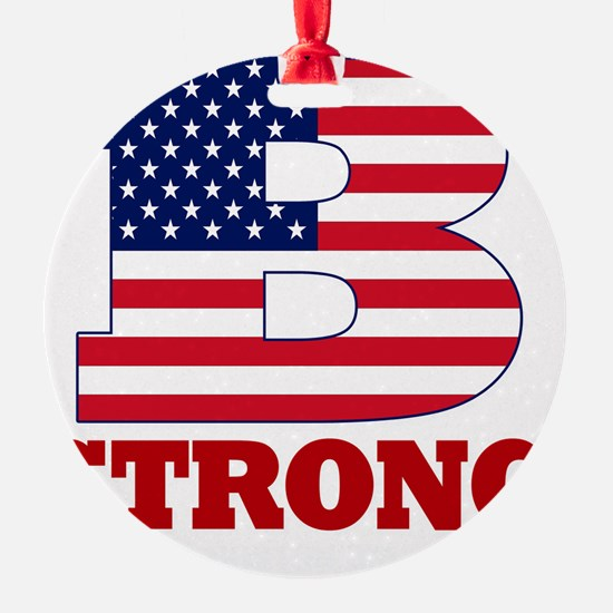 b strong(blk) Ornament