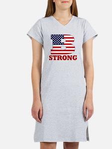 b strong(blk) Women's Nightshirt