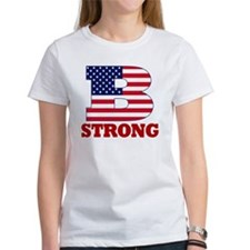 b strong(blk) Tee