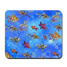Wild Goldfish Mousepad
