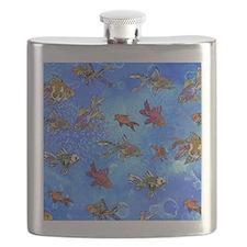 Wild Goldfish Flask