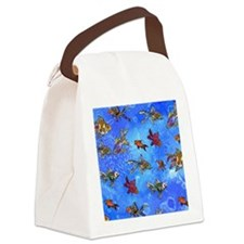 Wild Goldfish Canvas Lunch Bag
