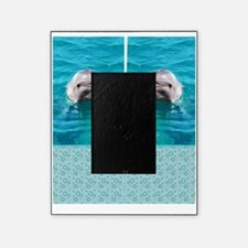 Dolphin Blue Water Picture Frame