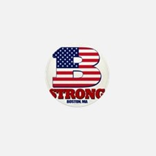 b strong Mini Button