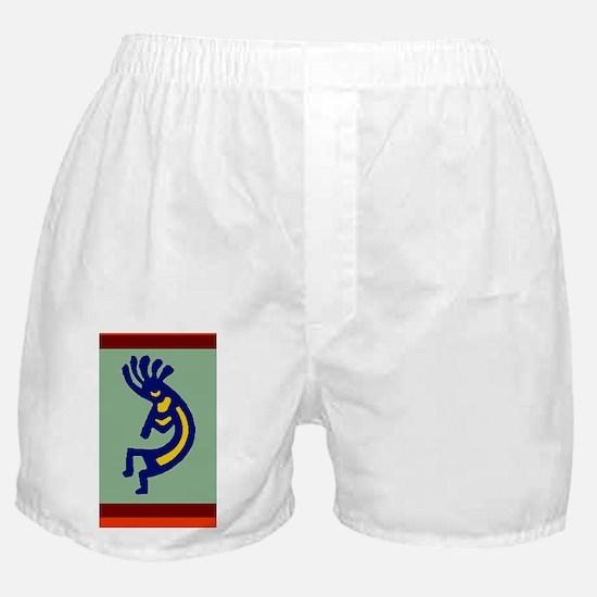 Kokopelli by Kristie Hubler Boxer Shorts