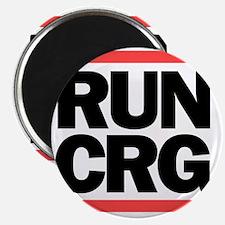 RUN CRG (black text) Magnet