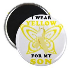 I Wear Yellow For My Son Magnet