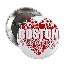 """boston heart(blk) 2.25"""" Button"""