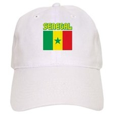 Senegal Flag Baseball Cap