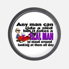 Real Man Wall Clock