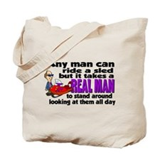 Real Man Tote Bag