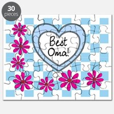 Best Oma Blue Puzzle