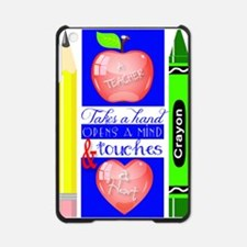 Teacher Touches a Heart Image iPad Mini Case