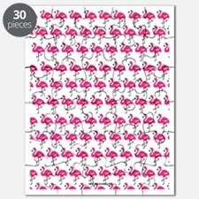 Flamingos Marching Puzzle