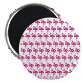 Flamingo Round Magnets