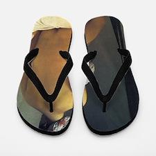 Jean Auguste Dominique Ingres The Bathe Flip Flops