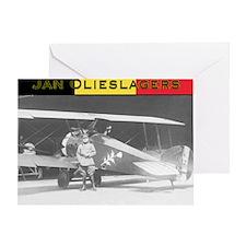 Jan Olieslagers Greeting Card