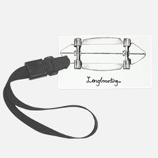 The Black and White 1 Luggage Tag