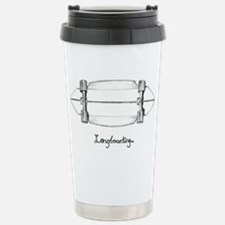 The Black and White 1 Stainless Steel Travel Mug